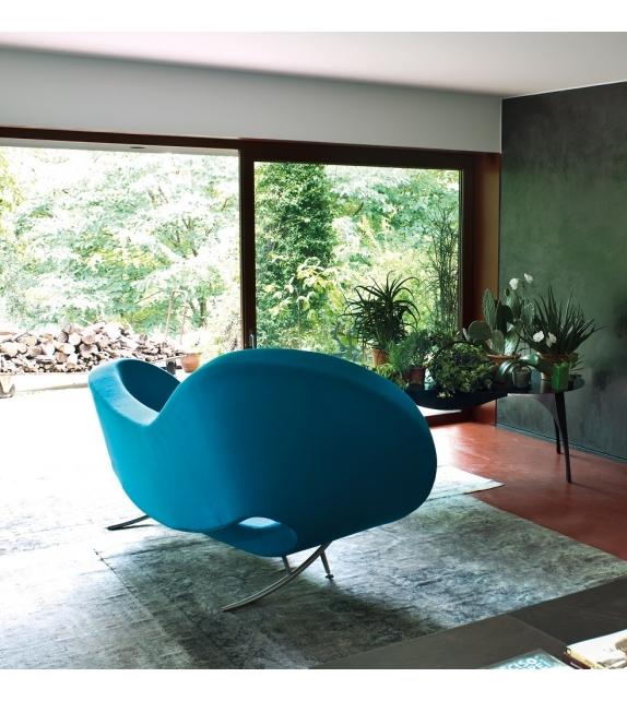 Victoria and Albert Armchair Left Asymmetrical Sofa Moroso