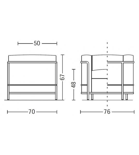 LC2 Cassina Armchair