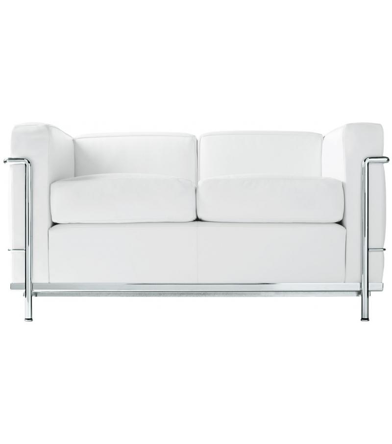lc2 divano 2 posti cassina milia shop. Black Bedroom Furniture Sets. Home Design Ideas