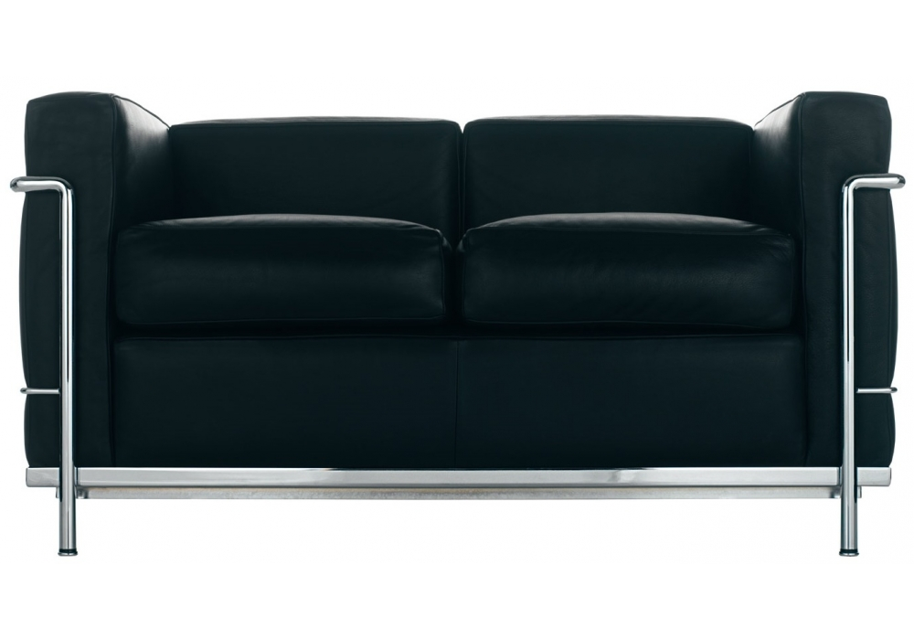 lc2 canap 2 places cassina milia shop. Black Bedroom Furniture Sets. Home Design Ideas