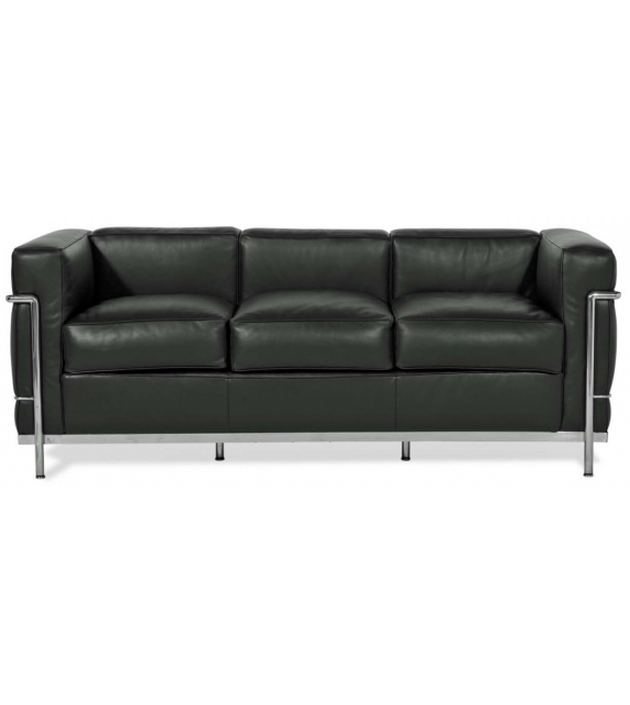 LC2 Three - Seater Sofa Cassina