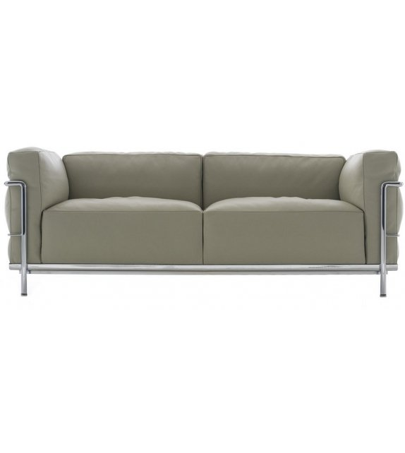 LC3 Two - Seater Sofa Cassina