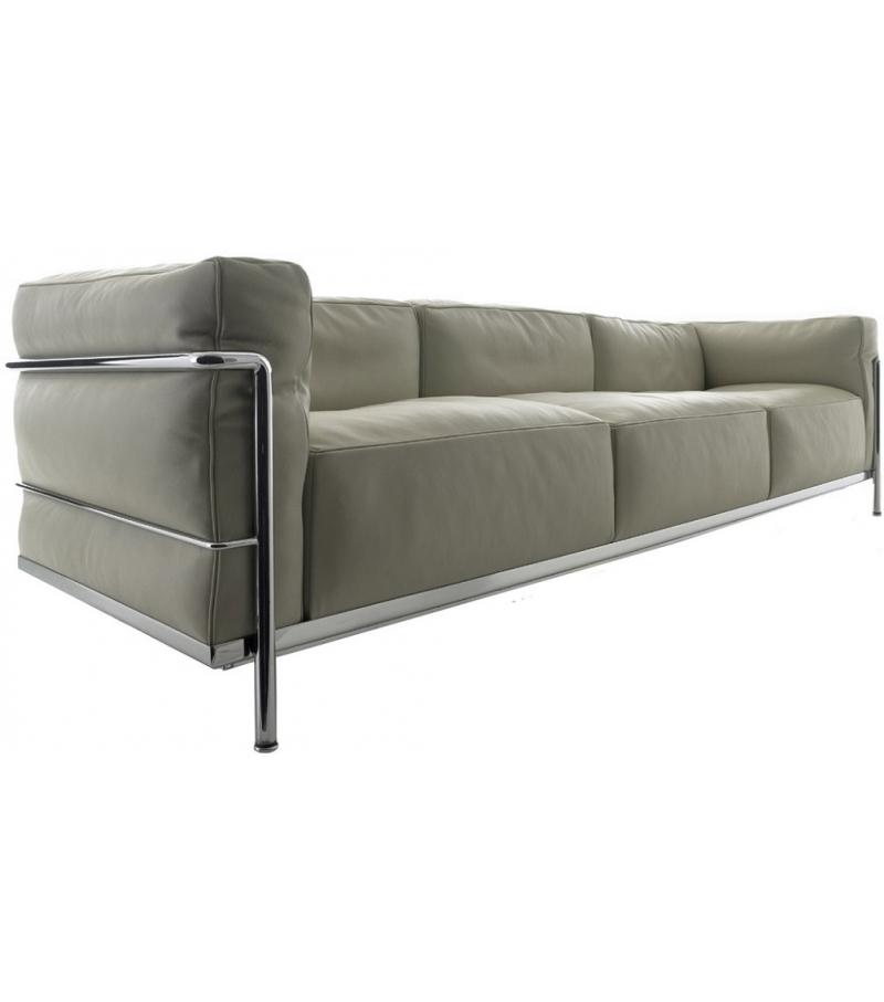 Dreier Sofa lc3 dreiersofa cassina milia shop