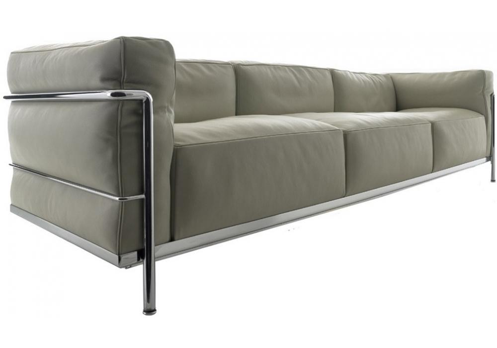 lc3 canap 3 places cassina milia shop. Black Bedroom Furniture Sets. Home Design Ideas