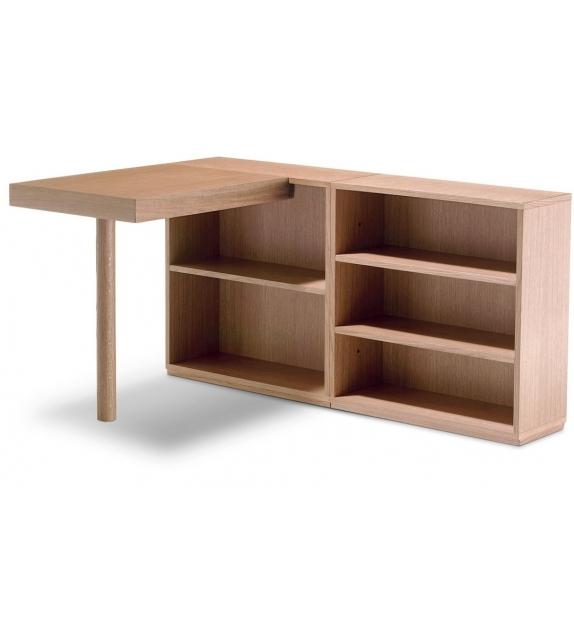 LC16 Table De Travail Avec Rayonnages Bureau  Cassina