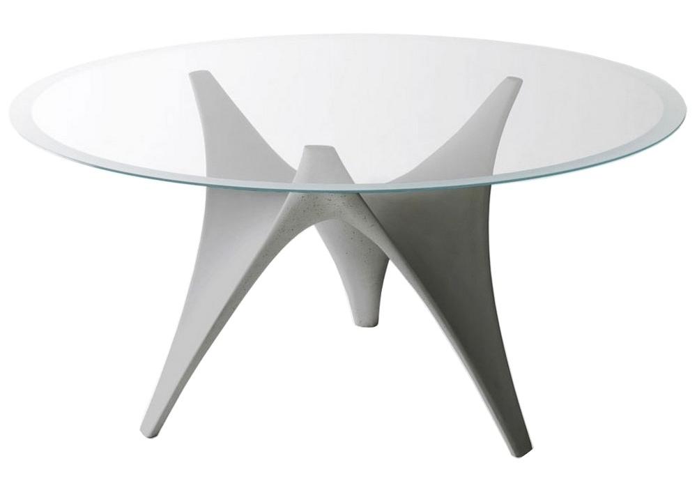 Arc round table molteni c milia shop - Table ronde pliante valise ...