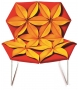 Antibodi Multicolor Armchair With Flowers Moroso