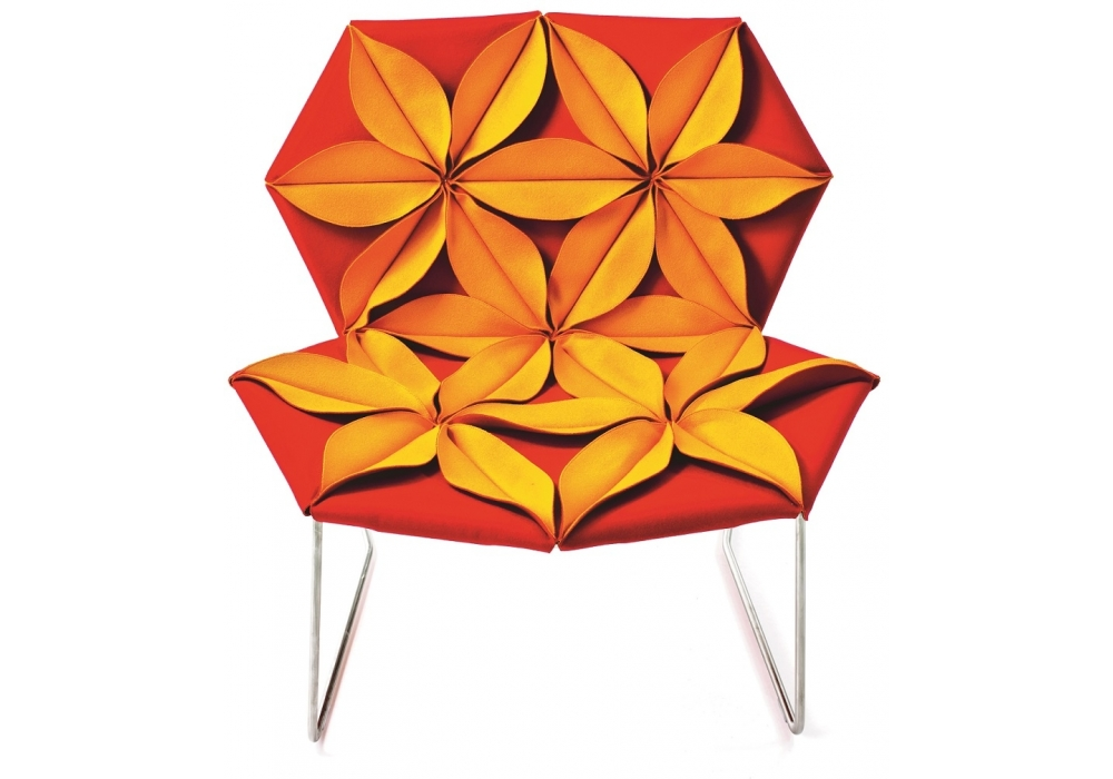 antibodi multicolor armchair with flowers moroso milia shop. Black Bedroom Furniture Sets. Home Design Ideas