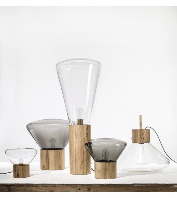 Brokis Muffins wood 04 lampada da tavolo/terra