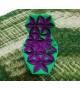 Antibodi Moroso Multicolor Chaise Longue mit Blüten