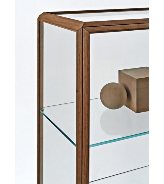 45° Vitrina Con Puerta Molteni & C
