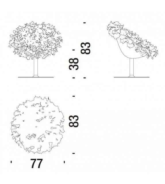 Bouquet Moroso Armchair