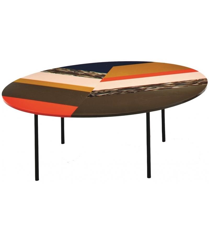 Fishbone Round Coffee Table Moroso Milia Shop