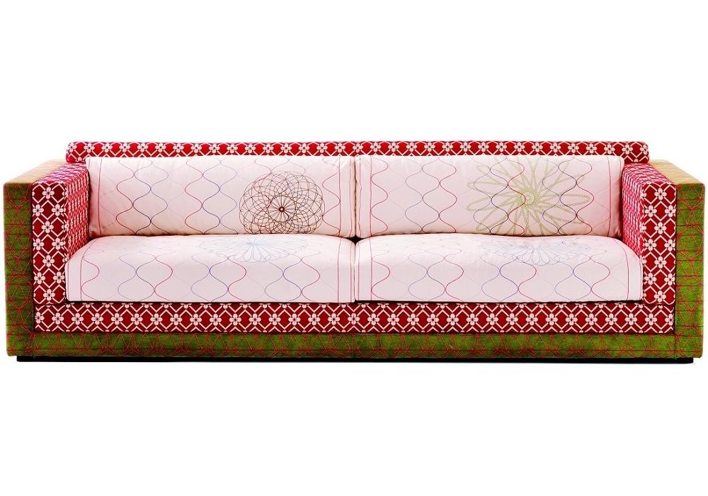 karmakoma dreiersofa moroso milia shop. Black Bedroom Furniture Sets. Home Design Ideas
