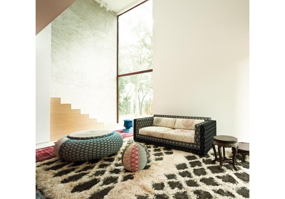 karmakoma canap 3 places moroso milia shop. Black Bedroom Furniture Sets. Home Design Ideas