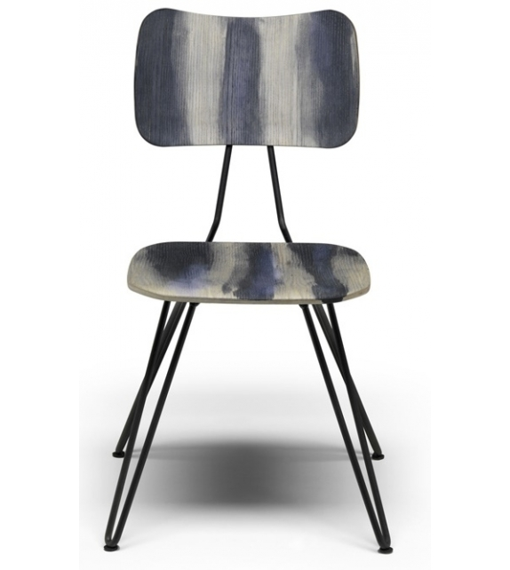Overdyed Side Chair Diesel with Moroso