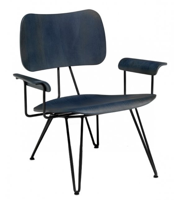 Overdyed Lounge Chair Diesel with Moroso