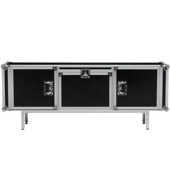 Total Flightcase 180 Sideboard Diesel with Moroso