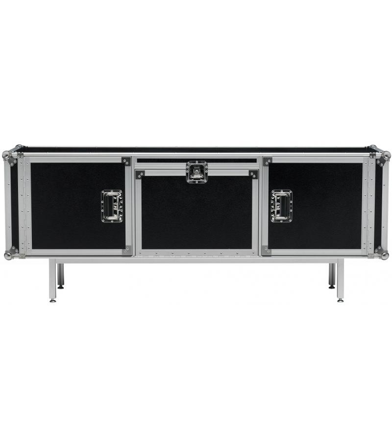 Total Flightcase 180 Sideboard Diesel with Moroso