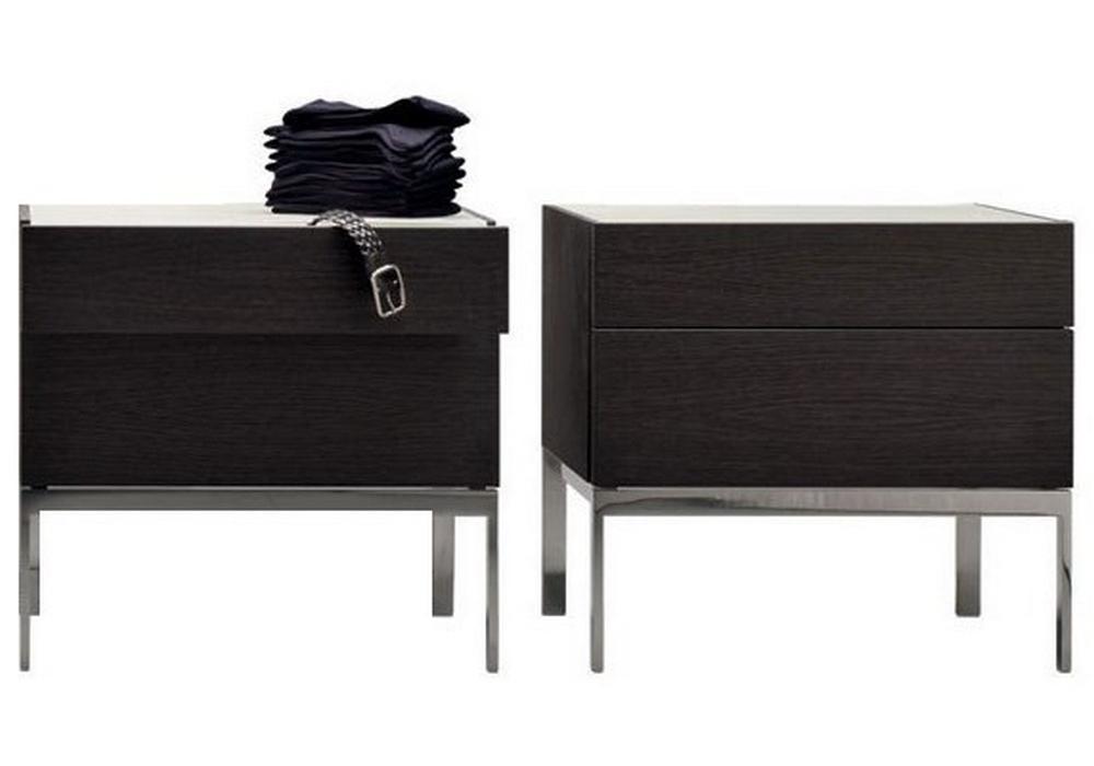 606 Table De Chevet Base En Metal Molteni C Milia Shop