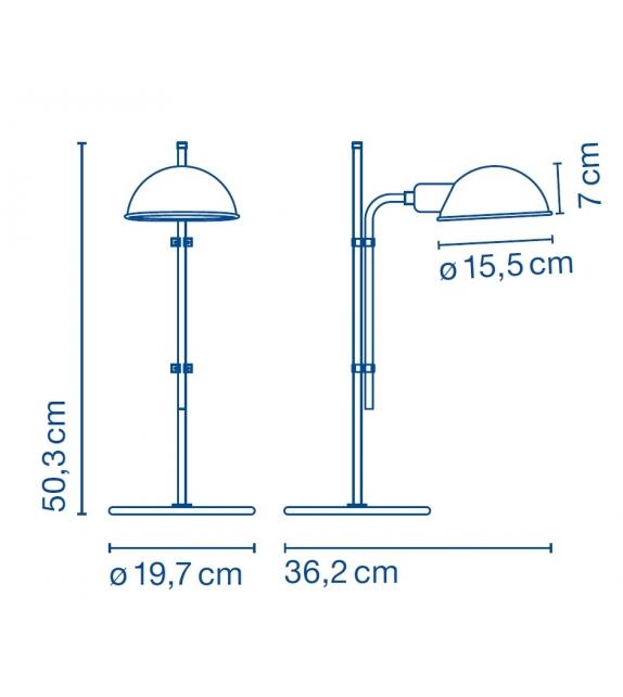 Funiculì Lámpara De Mesa Marset