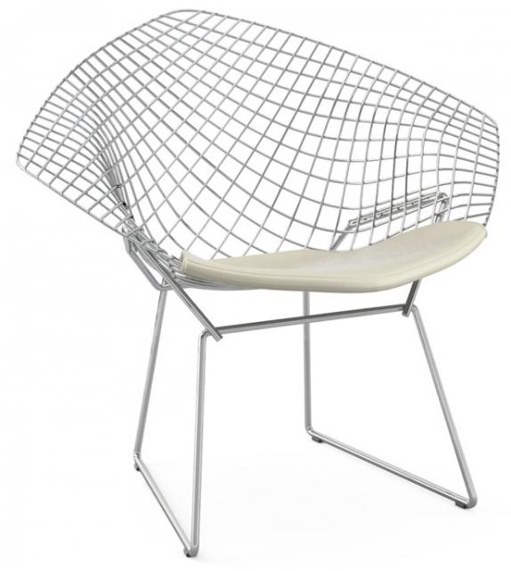 Bertoia Diamond Chair Sessel Mit Kissen Knoll