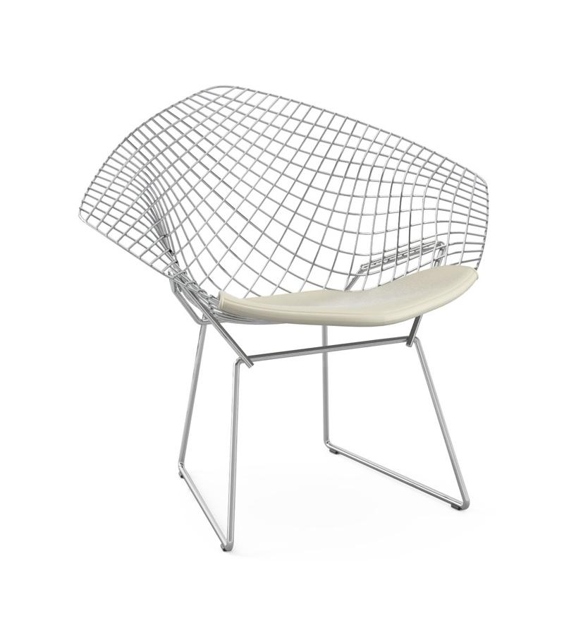 Bertoia Diamond Chair With Cushion Knoll