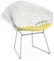 Bertoia Diamond Chair Poltroncina Con Cuscino Knoll