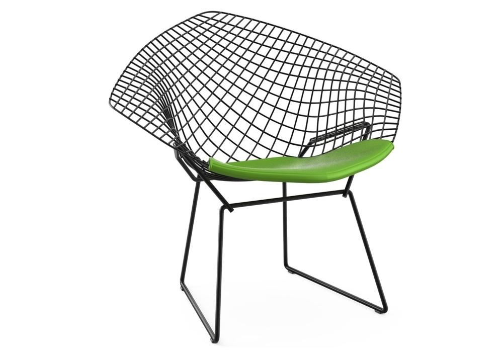 bertoia diamond chair sessel mit kissen knoll milia shop. Black Bedroom Furniture Sets. Home Design Ideas