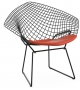 Bertoia Diamond Chair Sillón Con Cojín Knoll