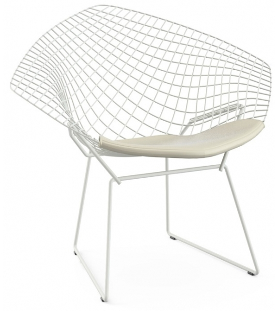 Bertoia Diamond Chair Fauteuil Avec Coussin Knoll