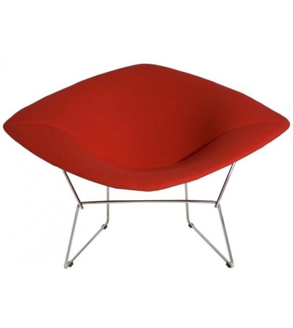 Bertoia large diamond chair knoll milia shop for Chaise bertoia knoll