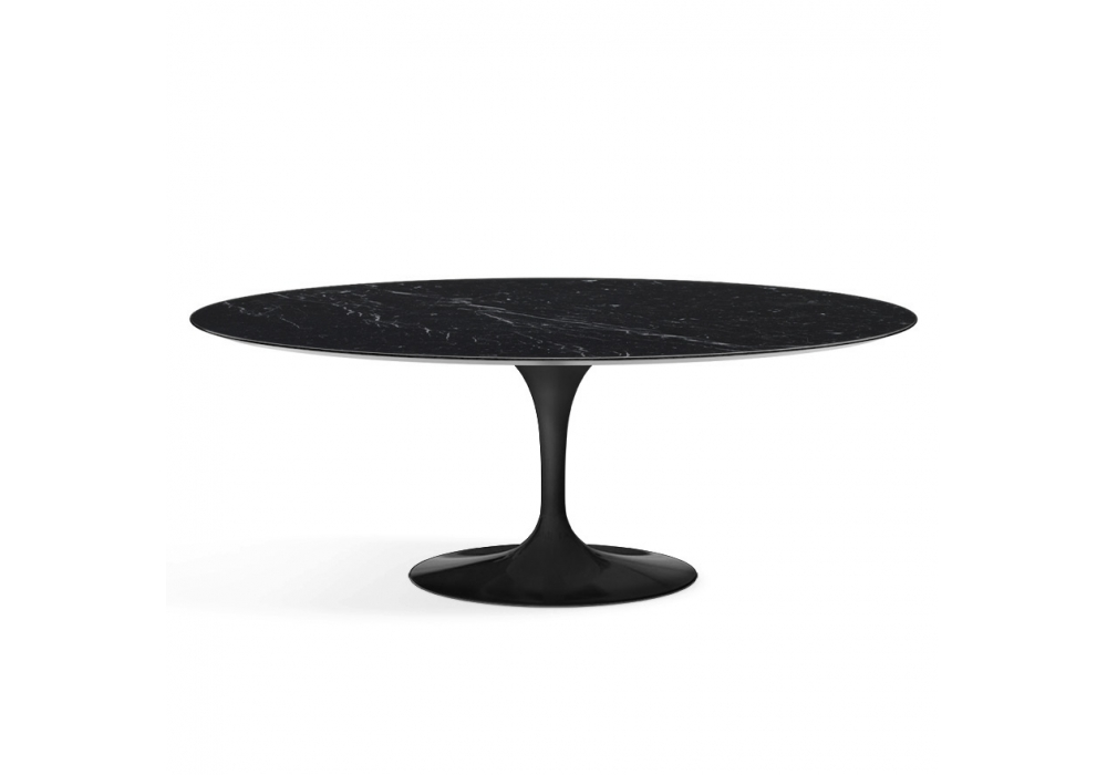 saarinen oval tisch aus marmor knoll milia shop. Black Bedroom Furniture Sets. Home Design Ideas