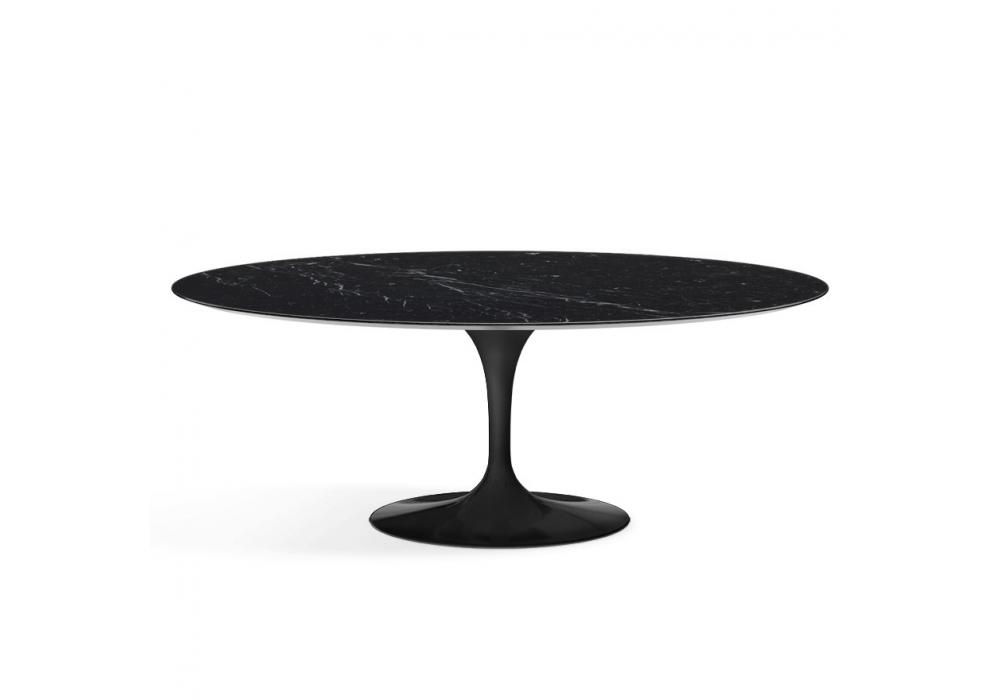Saarinen oval tisch aus marmor knoll milia shop for Marmor tische