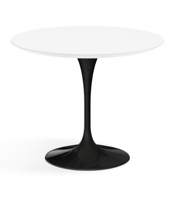 Saarinen Table Basse Ronde De Bois Knoll