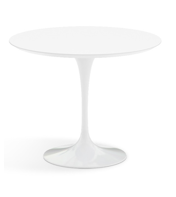 Saarinen Round Coffee Table Wood Knoll