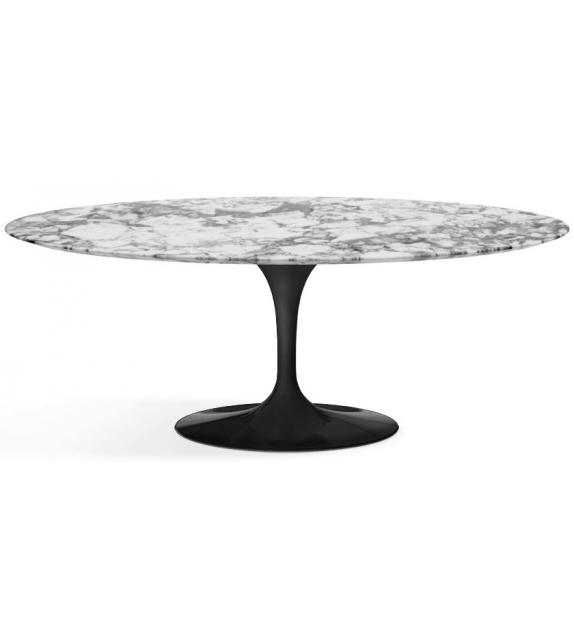 saarinen oval couchtisch aus marmor knoll milia shop. Black Bedroom Furniture Sets. Home Design Ideas
