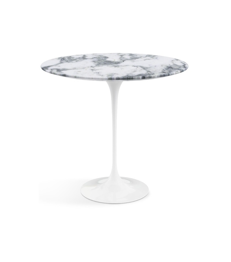 table knoll ovale marbre blanc great table avec plateau de marbre blanc de calacatta de forme. Black Bedroom Furniture Sets. Home Design Ideas