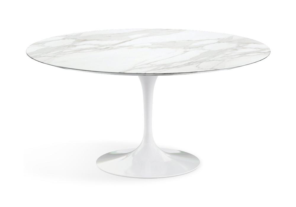 Saarinen Round Table Marble Knoll Milia Shop