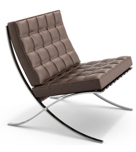 Barcelona chair armchair knoll milia shop for Chaise barcelona knoll prix