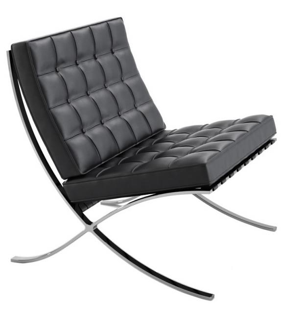 Barcelona Chair Fauteuil Knoll