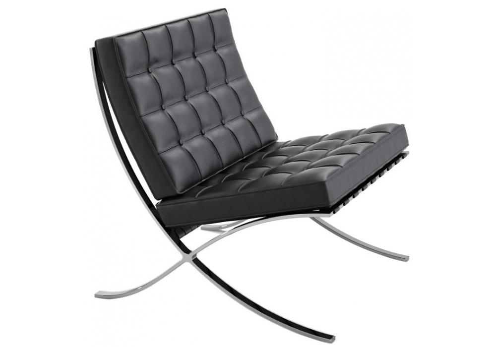 barcelona chair fauteuil knoll milia shop. Black Bedroom Furniture Sets. Home Design Ideas