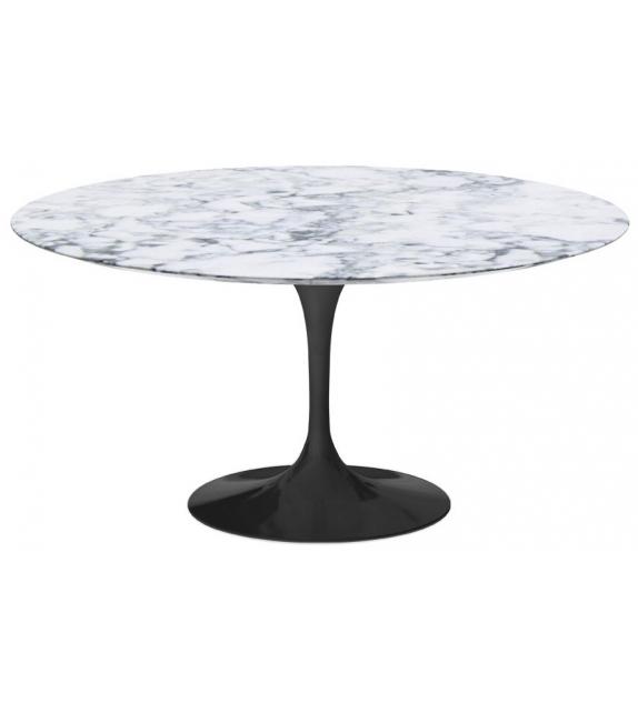 Saarinen Runder Tisch aus Marmor Knoll