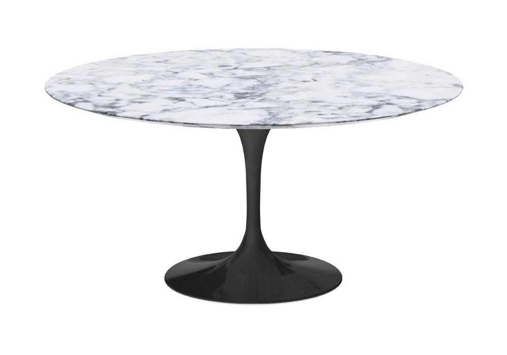 Tavolo Saarinen Marmo : Saarinen tavolo rotondo in marmo knoll milia shop