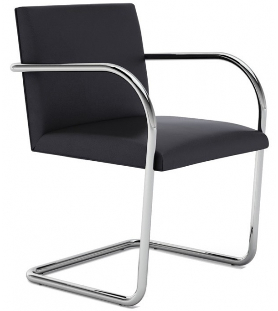 brno chair tubular petit fauteuil knoll milia shop. Black Bedroom Furniture Sets. Home Design Ideas