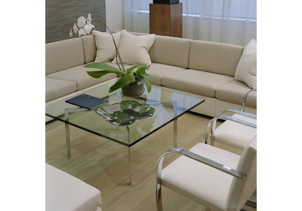 barcelona table basse knoll milia shop. Black Bedroom Furniture Sets. Home Design Ideas