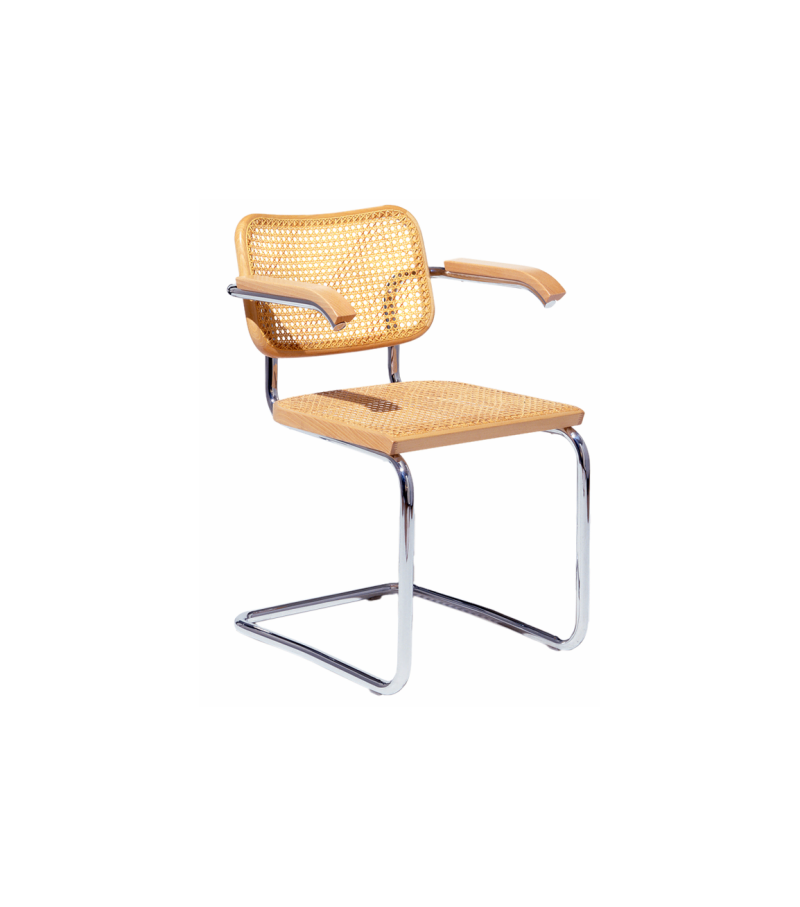 Cesca Chair With Armrests Knoll