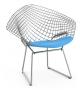 Bertoia Child's Diamond Chair With Cushion Knoll