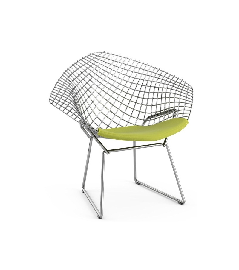 Bertoia Child 39 S Diamond Chair With Cushion Knoll Milia Shop