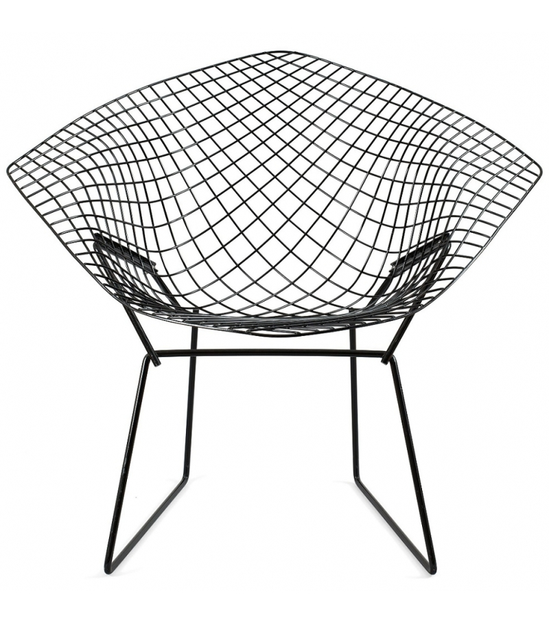Bertoia diamond chair outdoor knoll milia shop for Chaise bertoia knoll